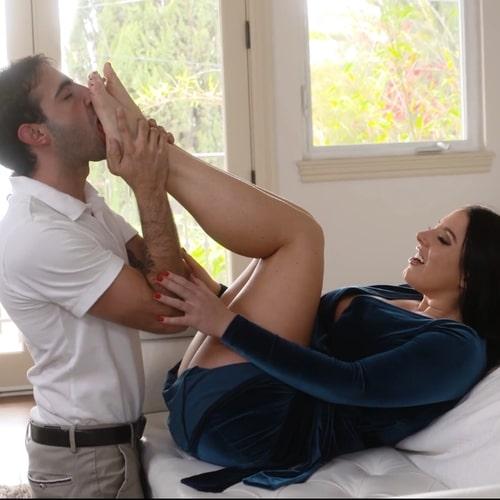 категория зрелого порно - Фетиш ногами